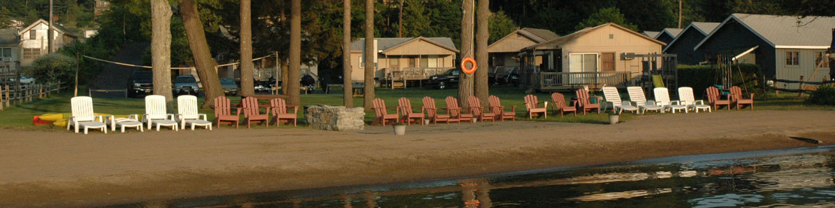 Welcome Page - Mt  Knoll Beach Cottages, A Lakeside Resort